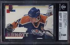1994-95 Stadium Club Members Only Jason Arnott Edmonton Oilers Mint BGS 9 w/ 9.5