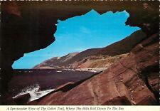 Cabot Trail Cape Brenton Nova Scotia Canada Postcard