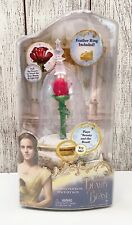 🔴 New Disney's Beauty and the Beast Enchanted Rose Jewelry Box by Jakks Works!