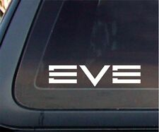 EVE Online Game Car Decal / Sticker - White (6 x 1.4 inches)