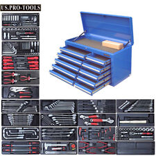 293 US PRO TOOLS Tool Chest Box cabinet toolbox finance available with tools