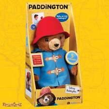 Paddington Movie Collection - 30cm Talking Paddington Plush Soft Toy with Sound