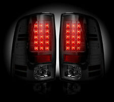 Recon Smoked LED Tail Lights For Dodge RAM 2013-2016 # 264236BK