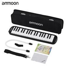 ammoon 37 Keys Melodica Pianica Piano Style Keyboard Harmonica Mouth Gifts E4E1
