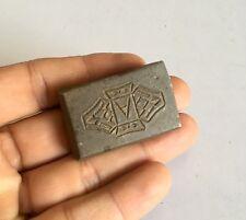 Vintage Old Mold Die Iron Hand Carved Islamic Jewelry Design Die