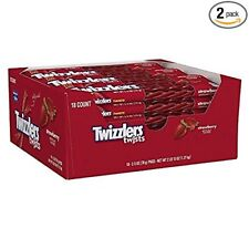 Twizzlers Twists Strawberry (2.5 oz packs, 18 ct. ) - PACK of 2