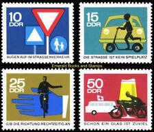 EBS East Germany DDR 1966 Road safety (I) Sicherheit Michel 1169-1172 MNH*
