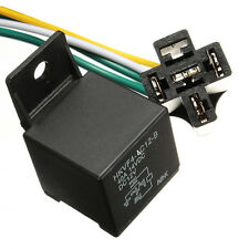 Car Auto DC 12V Volt 30/40A Automotive 4 Pin 4 Wire Relay & Socket 30amp / 40amp