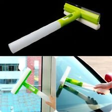 3 In 1 Spray Type Folded Brush Cleaner Car Window Cleaning Airbrush Glass Wiper