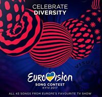 EUROVISION SONG CONTEST KYIV 2017 43-trk 2xCD album NEW/SEALED
