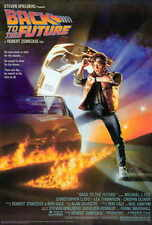 Back to the Future (1985) Film Cinema Poster 27x40 Theater Size NEW
