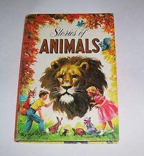 VINTAGE WHITMAN STORIES OF ANIMALS VIRGINIA CUNNINGHAM HB CHILDRENS BOOK 1947