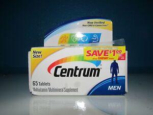 Centrum Mens Vitamin C D E K Multi Antioxidant Support 65 Tab Manganese 3/20