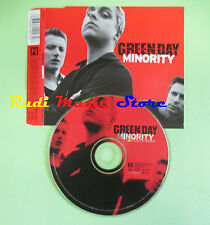 CD singolo Green Day Minority 9362-44927-2 EUROPE 2000 no lp mc vhs(S19)