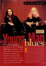 Kenny Wayne Shepherd UK Guitarist Interview Clipping TRANSPARENCY