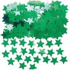 Coriandoli verde metallici per feste e party
