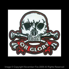 Patch Death or Glory Skull Punk British Army 17th Lancers Totenkopf Fight NFP023