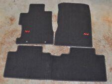 NEW OEM Genuine Honda Civic 4dr Si Black Carpet Floor Mats - 83600-SNX-A01ZA