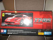 Tamiya 58560 Ferrari 458 Challenge TT-02 Chassis RC-Baukasten 1:10 nicht gebaut