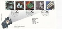 16 APRIL 1996 100 YEARS OF THE CINEMA RM FIRST DAY COVER LONDON WC2 SHS (p)