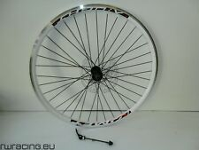 Ruota anteriore mtb 26 bianca Komet - per bici v-brake | 26 front mtb wheel