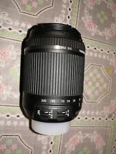 Obbiettivo Tamron 18-200mm F/3,5-6,3 Di II VC stabilizzato per Nikon e Canon