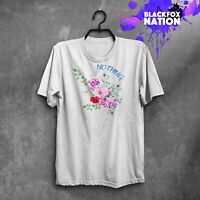 Floral Cute T-Shirt Quotes Tee Nothing T-Shirt Gift For Her Short Sleeve T-Shirt