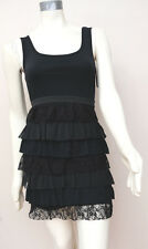 NEW Xhilaration Lace Tiered Sleeveless Sun Dress Beach Cocktail Sleeveless SZ M