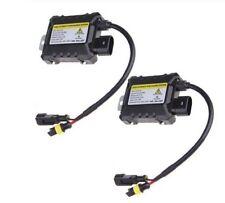 2x Ballast slim xenon 35W de remplacement 12V DC pour ampoule HID AUTO MOTO
