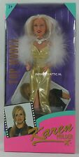 Karen mulder (Barbie - Sindy sized) doll top model made by Hasbro in 1995 Nrfb