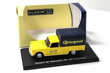 1:43 Eligor Peugeot 404 pick-up * PEUGEOT * Yellow New chez Premium-modelcars