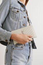 Saint Laurent Monogramme Leather Pouch
