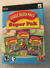 Charlie Church Mouse: Super Pak (PC, 2010) sealed new