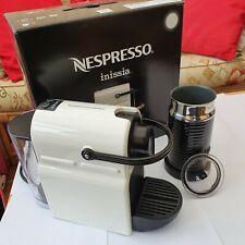 Krups Nespresso Inissia White 3 Cups Coffee Maker and Aeroccino 3
