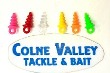 Carp Bait screws  plastic light strong multi coloured  easy to use cv tackle