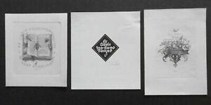 FRIEDRICH TEUBEL Exlibris