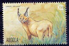 Angola 2000 MNH, Caracal Wild Animals Wild Cats (J1n)