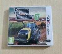 FARMING SIMULATOR 18  NINTENDO 3DS 2DS ITALIANO COME NUOVO COMPLETO DI MANUALE