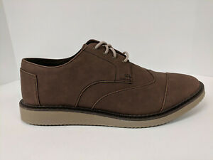 Toms Brown Lace Up Shoes Mens 12 M