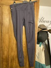More details for holland cooper leggins in grey xs with phone pocket