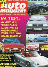 Auto Magazin 2/1993 - Porsche Boxter & 968 CS, Ford Probe, Toyota Lexus