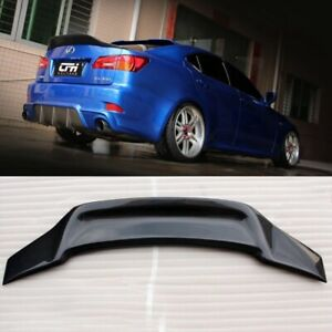 Carbon Fiber Rear Trunk Boot Spoiler Wing For  LEXUS IS250 IS350 ISF 2006-2013