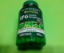 Hexafosfato Inositol 510 mg 120 capsulas PURITAN´S PRIDE Antioxidante