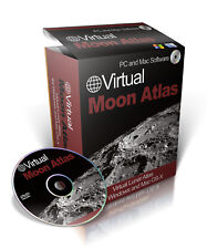 3D Virtual Moon Atlas/ Lunar Charts, Software Suite, Window and OS-X On CD-ROM