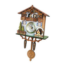 Decorative Collectibles Wooden Battery-operated Cuckoo Clock Home Décor D