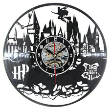 Harry Potter Wall Clock Modern Design Vintage Clocks Black Wall Watch Home Decor