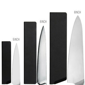 3 - Pieces Universal Knife Edge Guard Set Knife Case Knife Sleeve with Felt