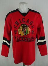 Chicago Blackhawks NHL G-III Men's Long Sleeve Jersey Shirt