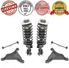 Front Complete Struts Control Arms w Sway Bar Links for Volvo C70 S70 V70 850