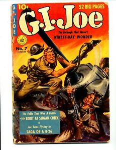 G.I. Joe #7     The Rout at Sugar Creek